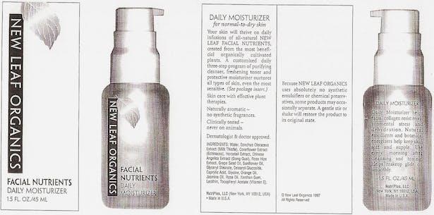 Cosmetic Packaging for Zepher Advertising