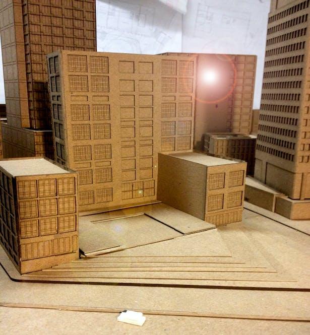 Model, Laser machine using Rhino software