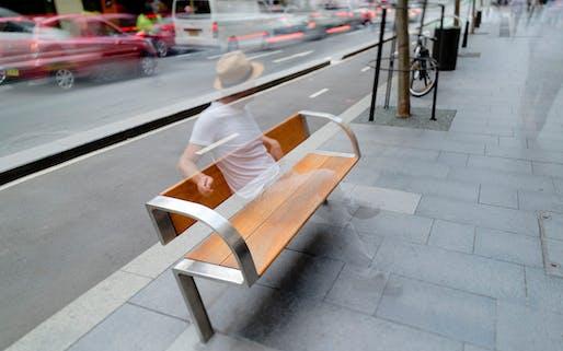 City of Sydney Street Furniture. Photo by Ben Guthrie.