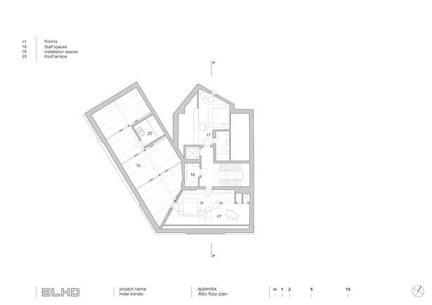 Floor plan - attic