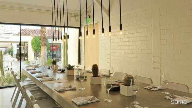 Michel Abboud Design for Workshop Restaurant