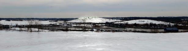 Fresh Hills Winter Slopes