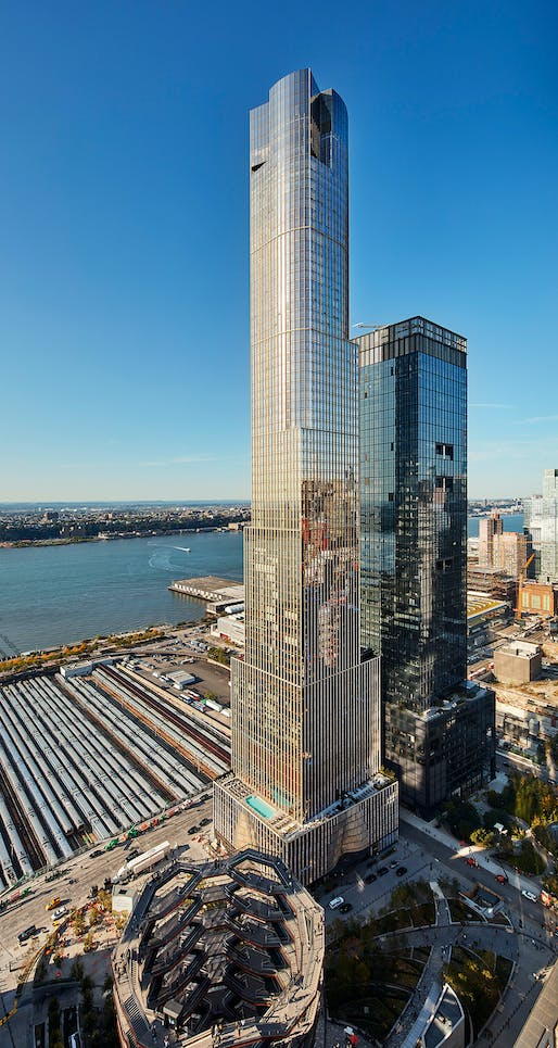 35 Hudson Yards © Dave Burk, courtesy SOM