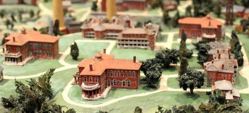 A model of St. Elizabeth's asylum. Credit: NBM