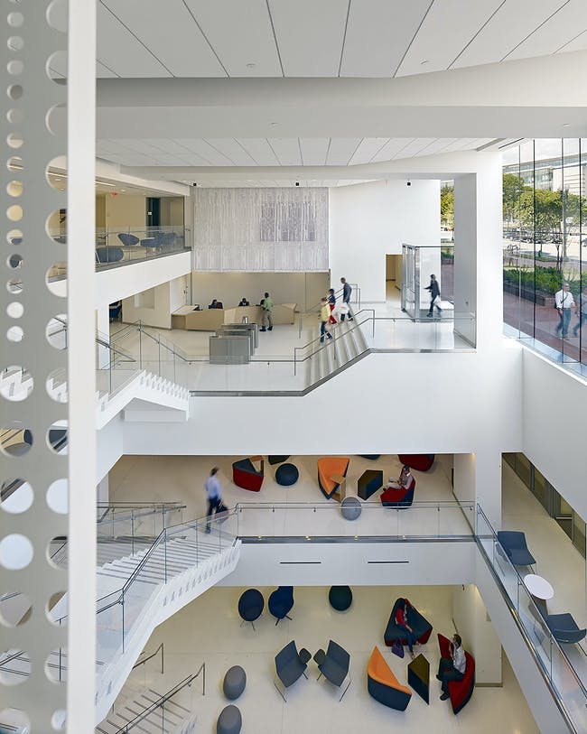 Georgetown University School of Continuing Studies; Washington, D.C. by STUDIOS Architecture.