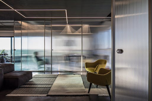 Interior Architecture - Merit: Basix Headquarters by Axelrod Design. Photo: Amit Geron.