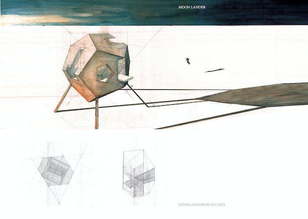 dodecahedron moon lander [university of texas at austin]