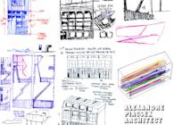 Project for warehouse loft conversion in London for the artist E.J. Carpenter