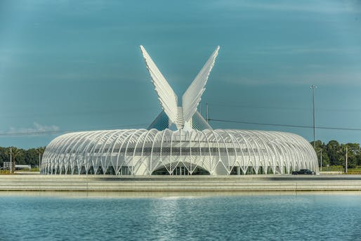 Florida Polytechnic University Innovation Science and Technology Building, Lakeland, Fla. -- one of 12 winning projects in the AISC's IDEAS² building awards. Photo: Macbeth Photo