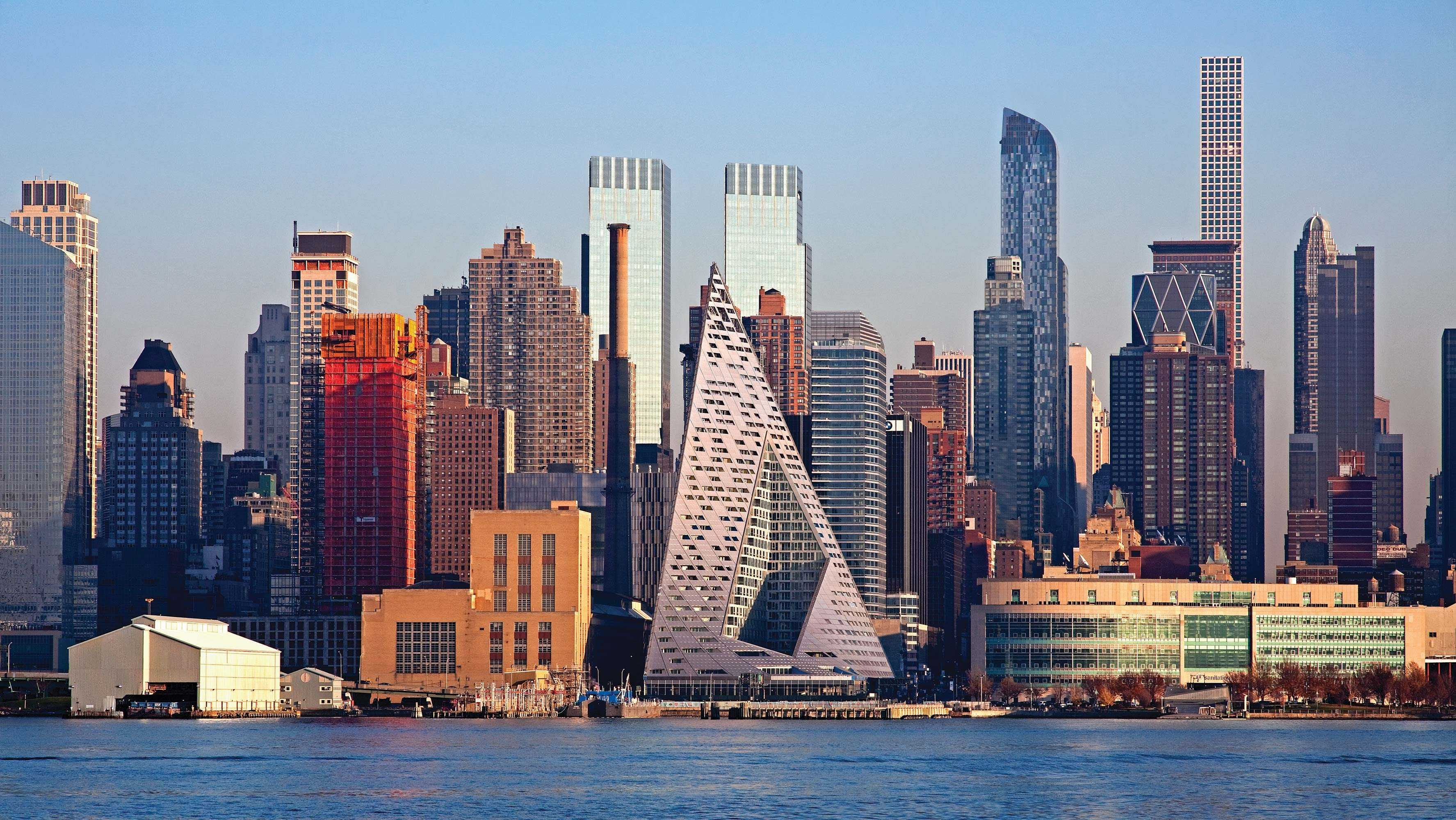 Michael Kimmelman Credits The Unusual Via 57 West Condo Tower For Redrawing  Manhattanu0027s Western Skyline.