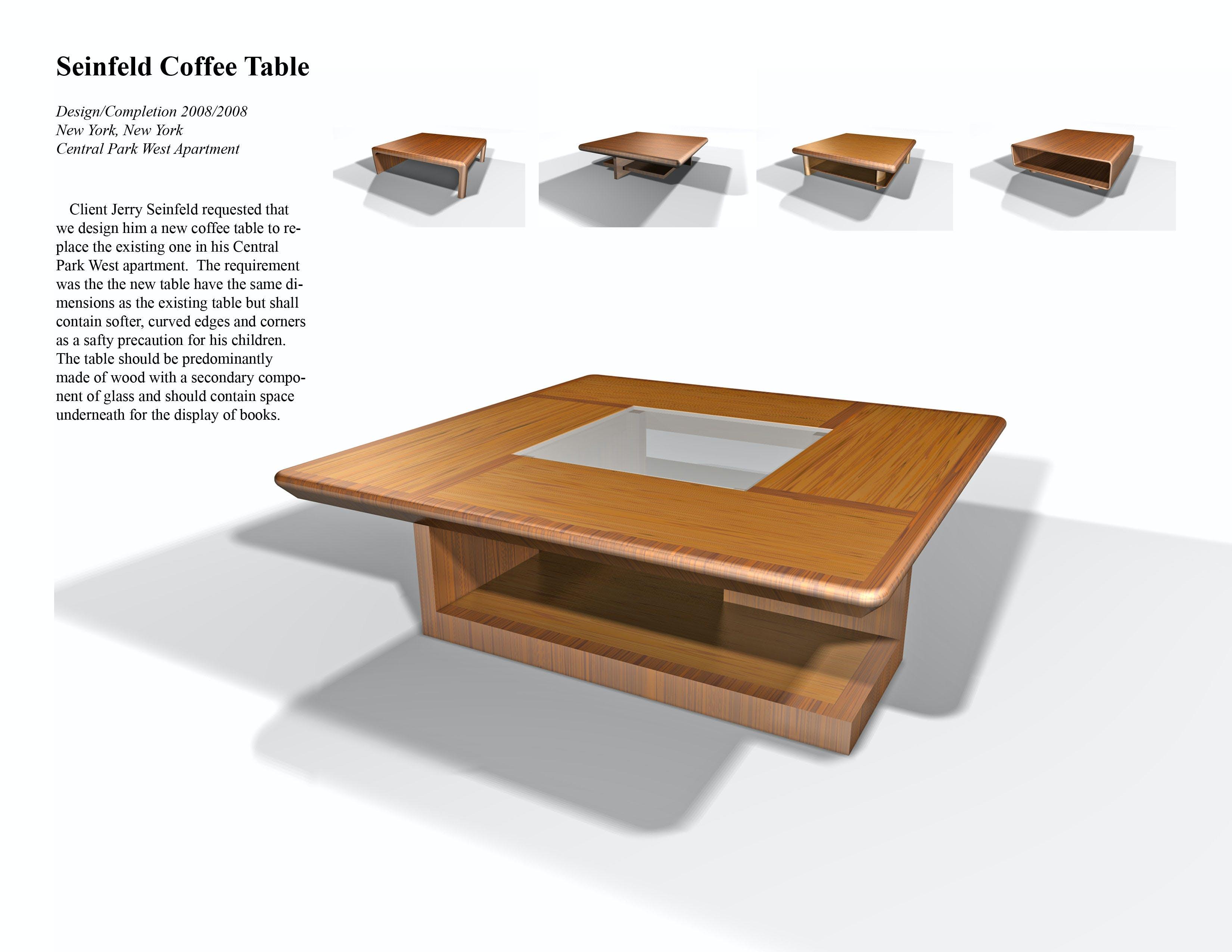 Seifeld Coffee Table Aaron Emma