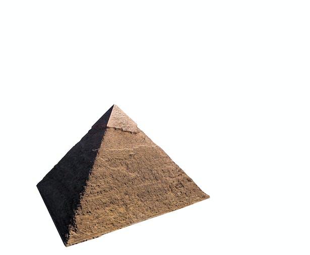 1: existing pyramid