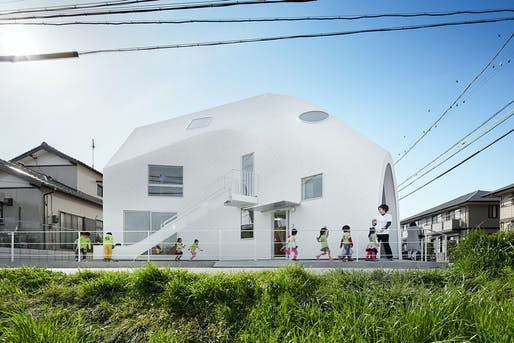 The newly built Clover House in Okazaki by MAD. Photo: Fuji Koji.