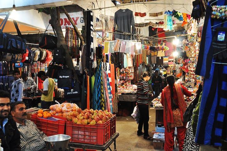 Chandigarh: originally informal, now city-subsidized market