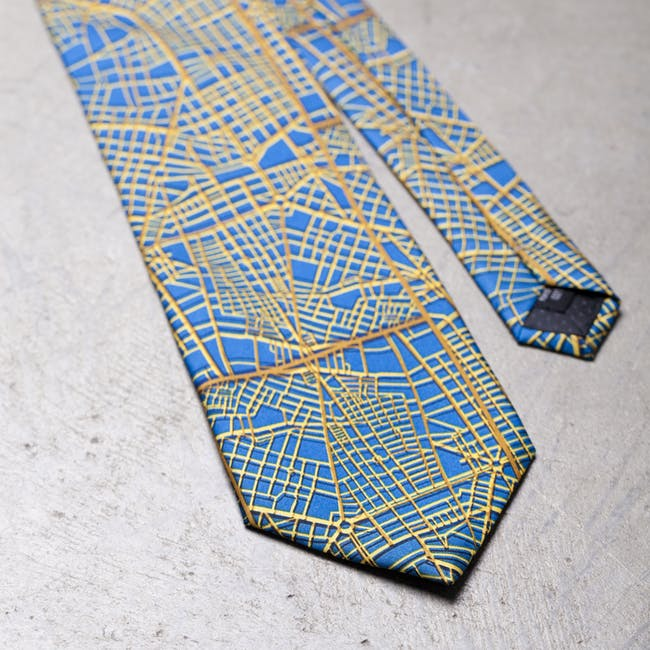 'Lima' tie by ArquitectonicaPRODUCTS