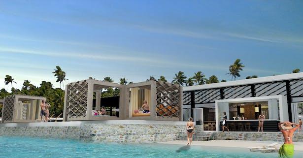 Aqua Dulce Beach club -Angola