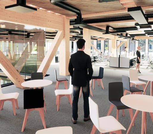 Time to reconnect with nature: Timber offices of the future