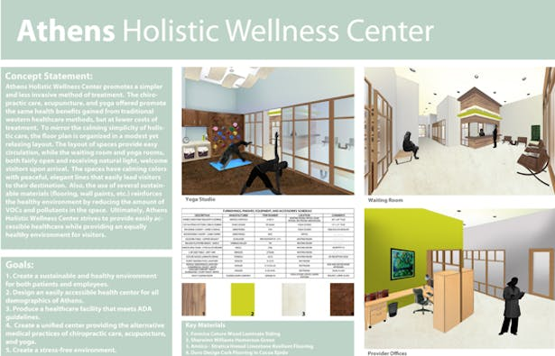 Healthcare Design Athens Holistic Wellness Center