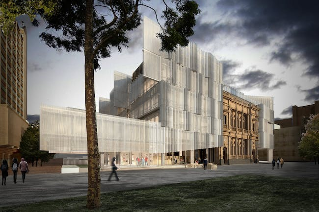 Faculty of Architecture, Building and Planning - University of Melbourne by NADAAA (with John Wardle Architects).