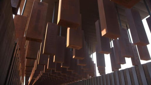 The National Memorial for Peace and Justice, interior. Photo: CBS News