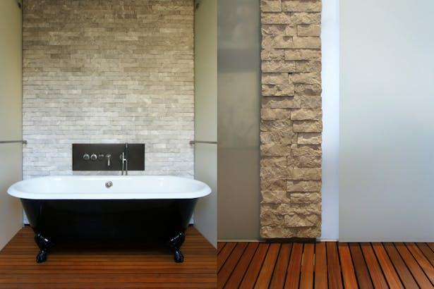 Midtown Minimal Master Bath. Photo: T. G. Olcott
