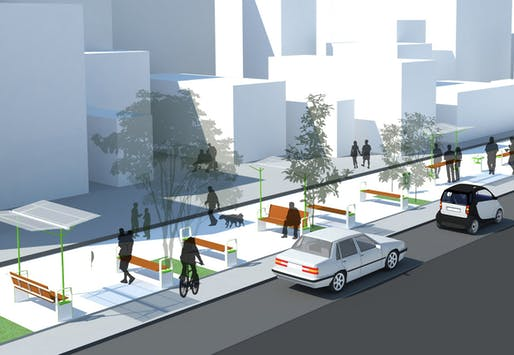 Febin Frederick & Naveen Nair's winning proposal for the Street Smart competition. Image courtesy of project authors.