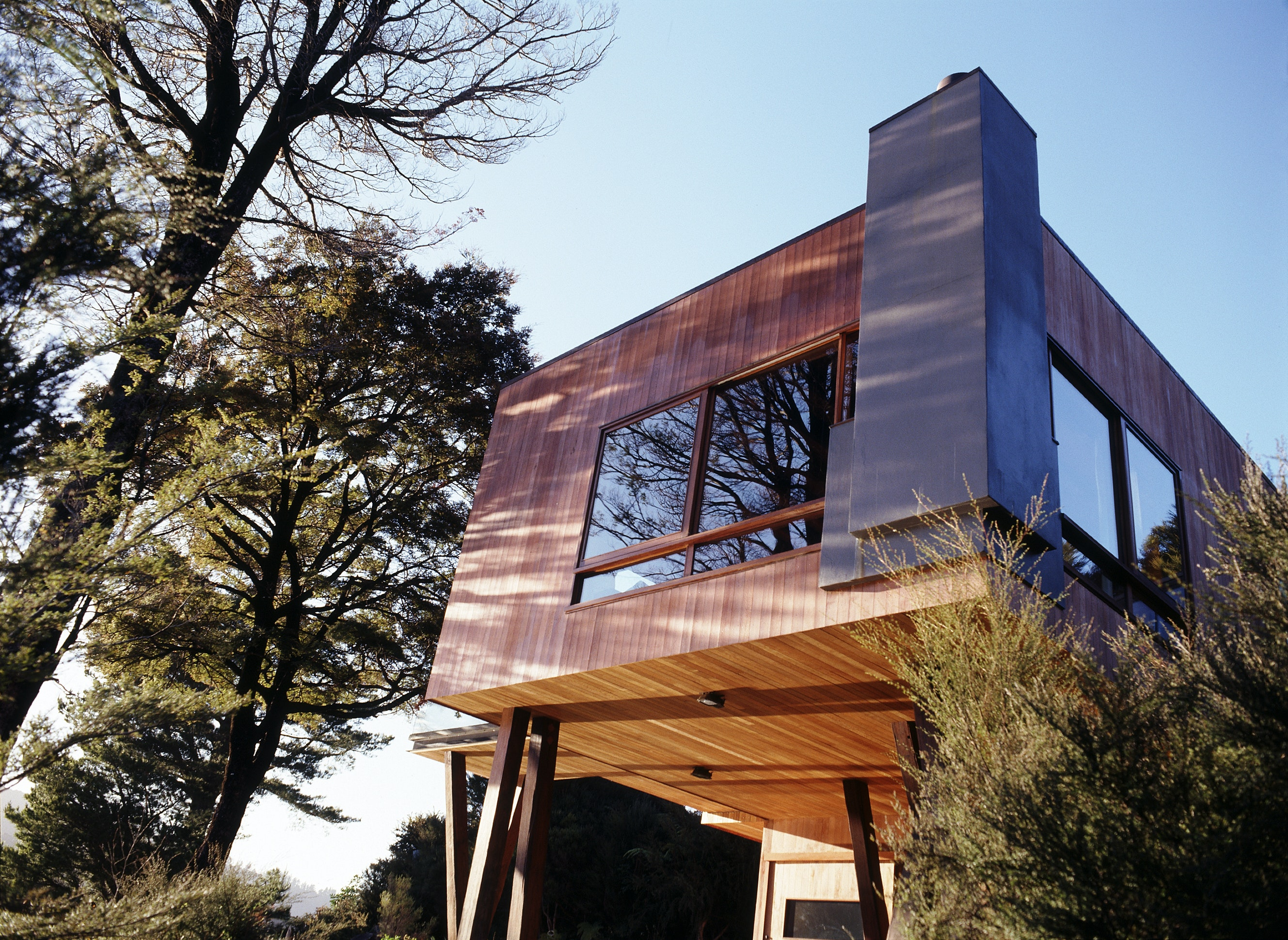 Waterfall Bay House Bossley Architects Archinect