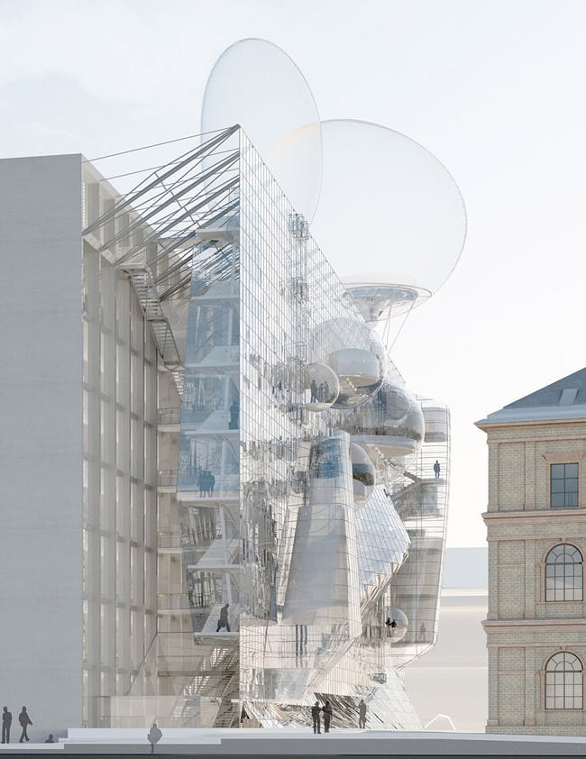 """""""NEUE ANGEWANDTE' by Wolfgang Tschapeller ZT GmbH"""