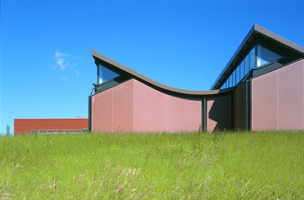 JFS_Jean Francois SCHMIT architectes_maroquinerie Iseroise_west facade