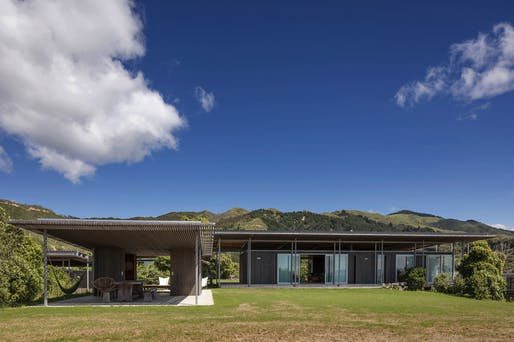 Villa - Completed Buildings Winner: Irving Smith Architects, Bach with Two Roofs, Golden Bay, New Zealand.