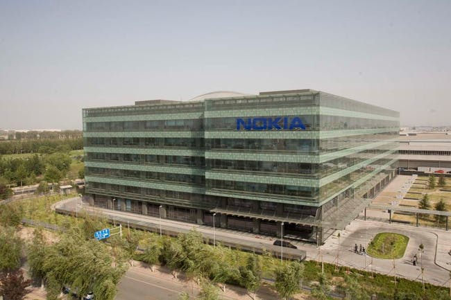Arup's Nokia China Campus building has snagged a LEED gold award for its double-skin facade, underground parking, water reduction technologies and 97% of the space having an outside view.