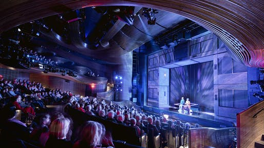 Coca-Cola Stage at the Alliance Theater by Trahan Architects/APAC © Leonid Furmansky