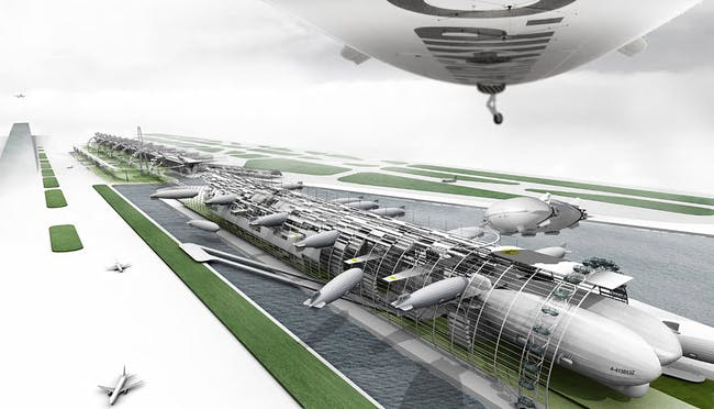 2nd Place: The Airport of the Future by Martin Sztyk, University College London, London
