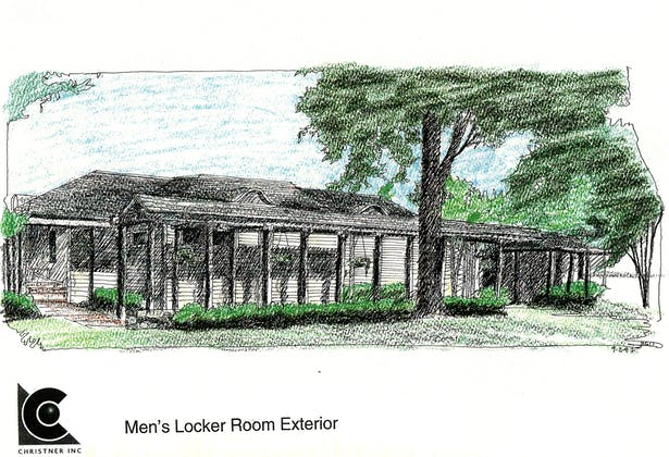 New lockerroom addition