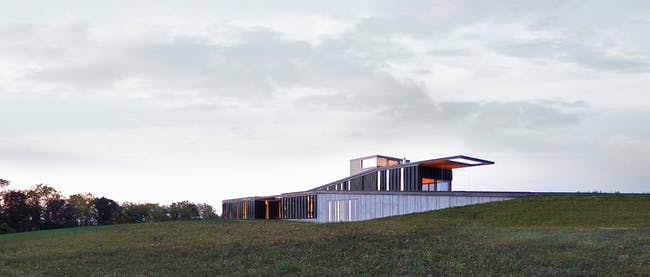 Topo House (Wisconsin) by Johnsen Schmaling Architects. Photo © John J. Macaulay