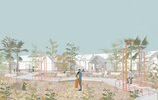 Best Rendering: Cemetery, Miguel Rodrigo with Here And Now Agency