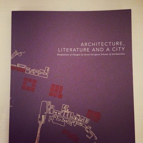 Being published in 'Architecture, Literature and a City'