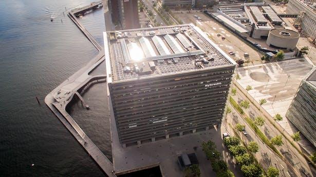 Nykredit's Headquarters by schmidt hammer lassen architects