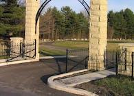 Wellsboro Cemetery Gate