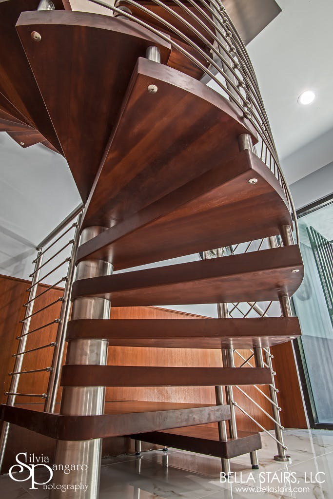 Commercial Spiral Staircase Bella Stairs Llc Archinect