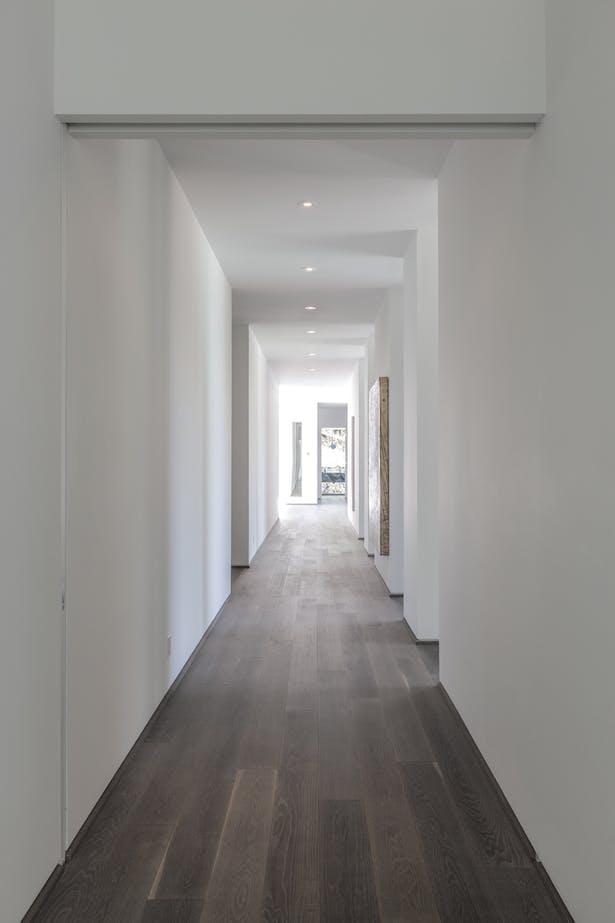 main hallway / spine
