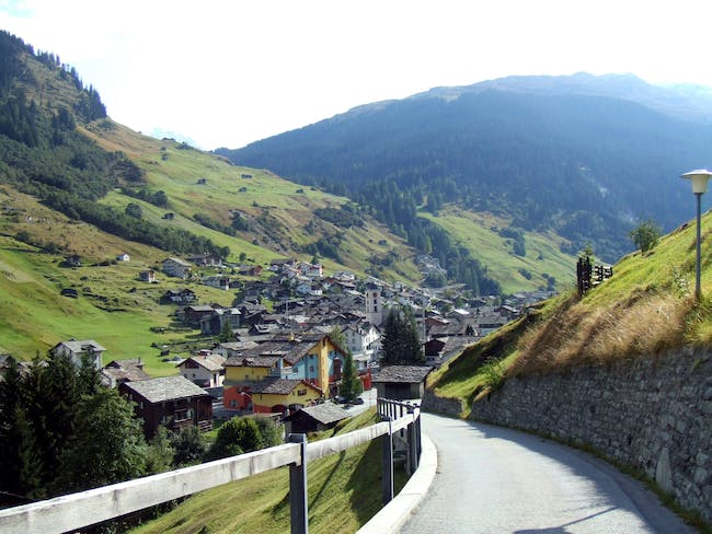 'Vals, Switzerland' by Mei Burgin - originally posted to Flickr as Vals, Switzerland. Licensed under CC BY 2.0 via Wikimedia Commons - http://commons.wikimedia.org/wiki/File:Vals,_Switzerland.jpg#/media/File:Vals,_Switzerland.jpg