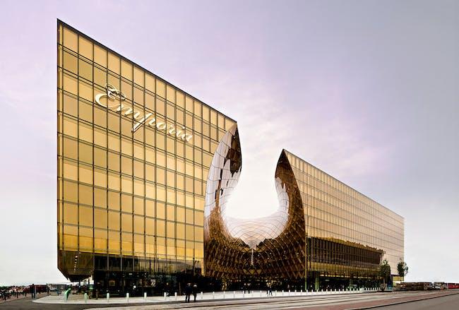 Shopping winner: Emporia, Sweden by Wingårdh Arkitektkontor. Image courtesy of WAF.