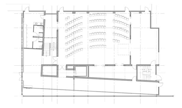 Black Box Theatre David Needleman Archinect