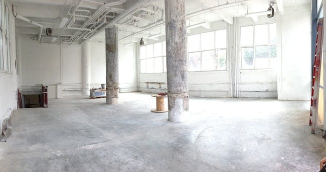 The new Makeshift Society clubhouse space in Brooklyn. Image from Makeshift Society Kickstarter.
