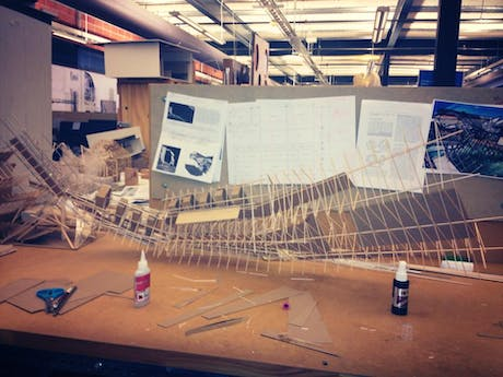 9th day on this model and still going.. measuring 6' 6' at a 1/16 scale and more details to add.