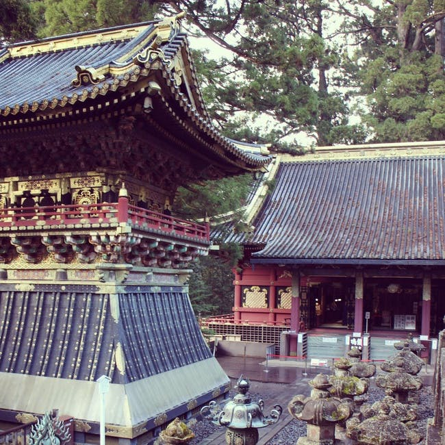 Nikko temple(s) via Evan Chakroff