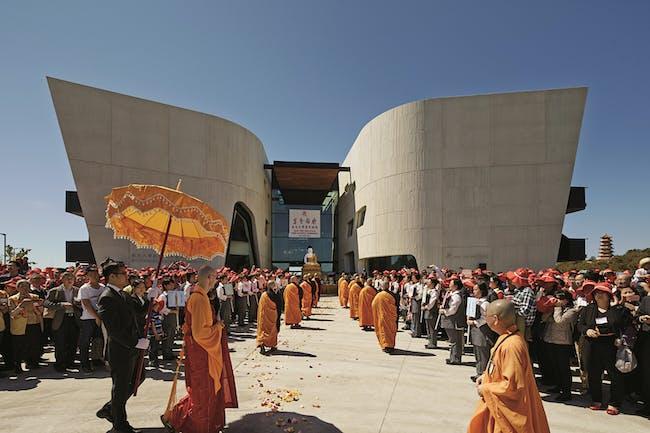 World Architecture Festival 2015 shortlist - Nan Tien Institute and Cultural Centre by Woods Bagot.