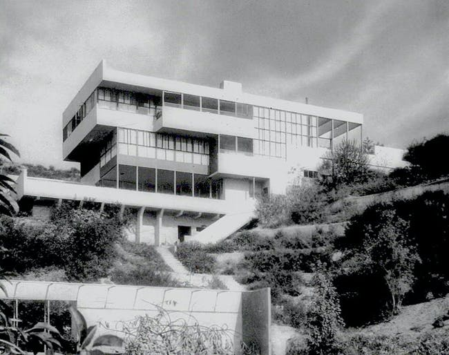 The Lovell House by Richard Neutra. Image courtesy of Ensemble Studio Theatre/Los Angeles