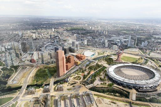 Plans for V&A East at the Queen Elizabeth Olympic Park in East London.